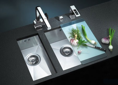 Chopping Board over Kitchen Sink